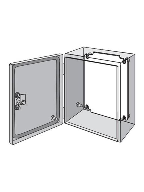 Hoffman LP2377G 8.31 x 29.57 Inch Galvanized Steel Enclosure Panel