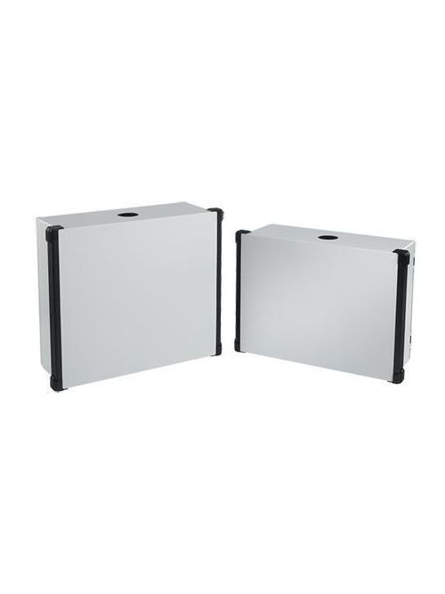 Hoffman CP556018B 555 x 600 x 180 mm Painted 14 Gauge Steel NEMA 4 HMI Enclosure System with Blue Extrusion