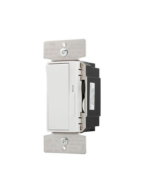 Eaton Wiring Devices DAL06P-C2 300 W 120 VAC 1-Pole 3-Way Light Almond/Ivory/White LED/CFL Decorator Dimmer