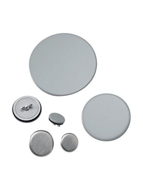 Hoffman AS050 1.38 Inch Diameter ANSI 61 Gray Steel Conduit Hole Seal