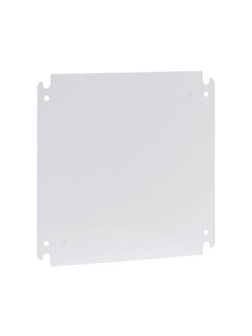 Hoffman CP4245G 12.07 x 13.08 Inch Galvanized Steel HMI Enclosure System Door Panel