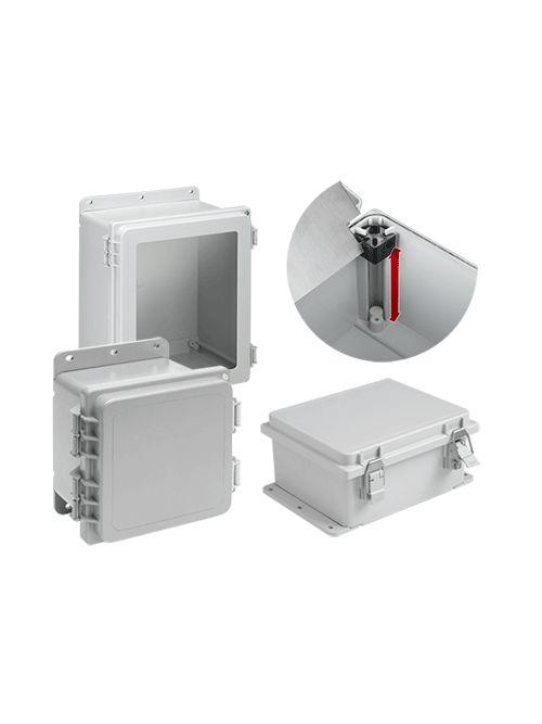 Hoffman A14128PHC 14.02 x 12.01 x 8.35 Inch Polyester NEMA 4X Enclosure