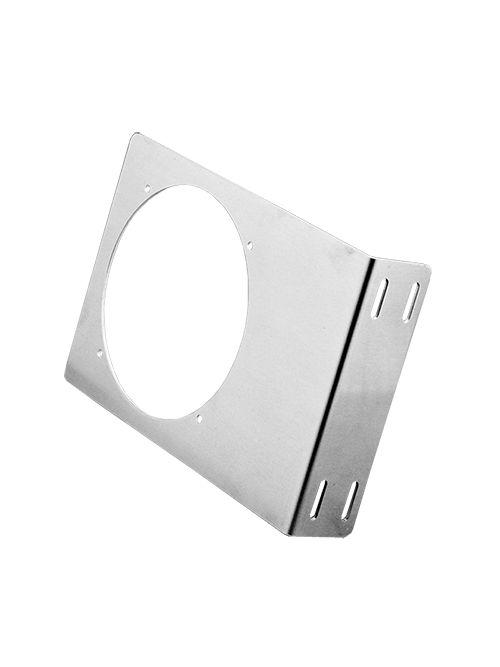Hoffman ABRKT6 10 x 6.88 x 2 Inch Steel Fan Bracket