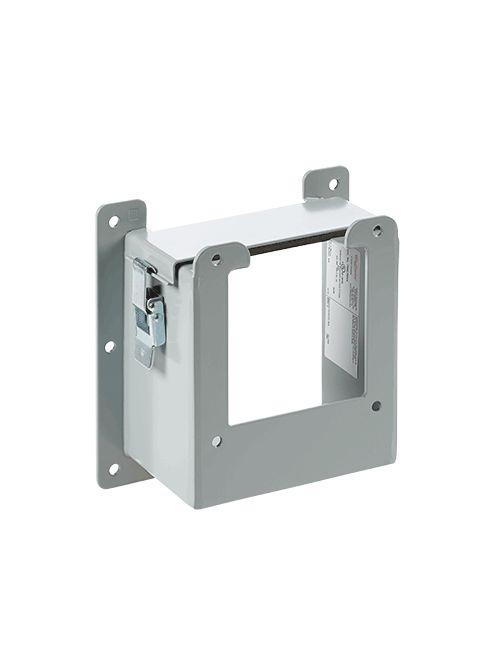 Hoffman F66LRE44 6 x 6 to 4 x 4 Inch NEMA 12 Gray Steel Lay-In Wireway Reducer