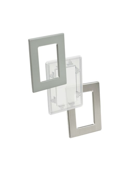 Hoffman APWK1711NFSS 17 x 11 Inch Brushed 304 Stainless Steel Window Kit
