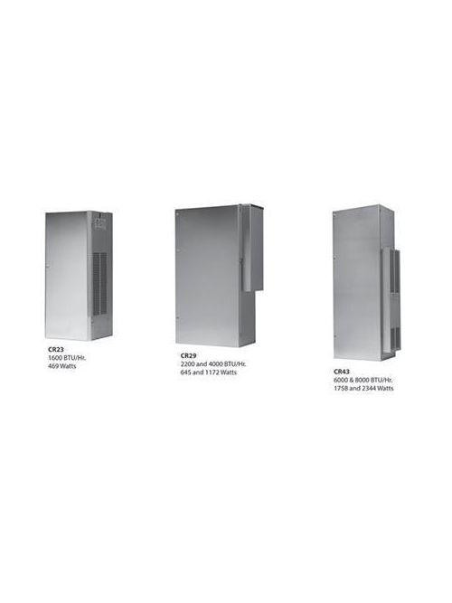Hoffman CR430646G004 3.6 Amp 1758 W 460 Volt 1-Phase 6000 BTU/HR Galvanized Sheet Metal Cabinet Mount Air Conditioner