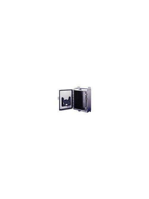 Hoffman A201606LPEMCSS 20 x 16 x 6 Inch 14 Gauge 304 Stainless Steel NEMA 4X Wall Mount Enclosure