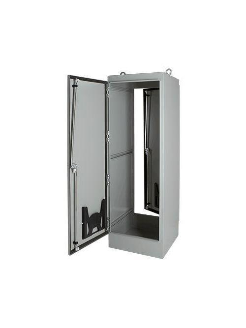 Hoffman A604818FSD 60.06 x 48.06 x 18.06 Inch White 12 Gauge Steel NEMA 12 2-Door Free Stand Enclosure