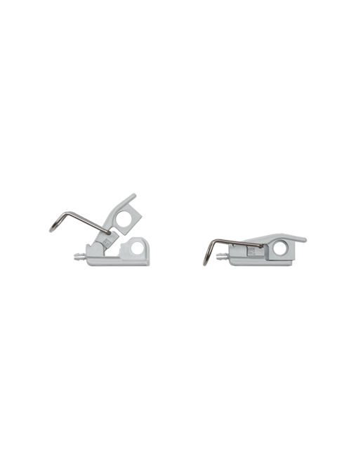 Hoffman AL48 Gray Polyester 316L Stainless Steel Quick Release Latch Kit