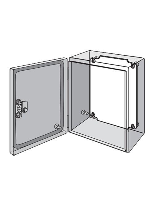 Hoffman LP3025G 11.07 x 9.1 Inch Galvanized Steel Enclosure Panel