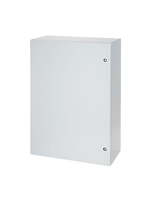Hoffman CSD242412LG 24 x 24 x 12 Inch Light Gray 16 Gauge Steel NEMA 4/12 1-Door Wall Mount Enclosure