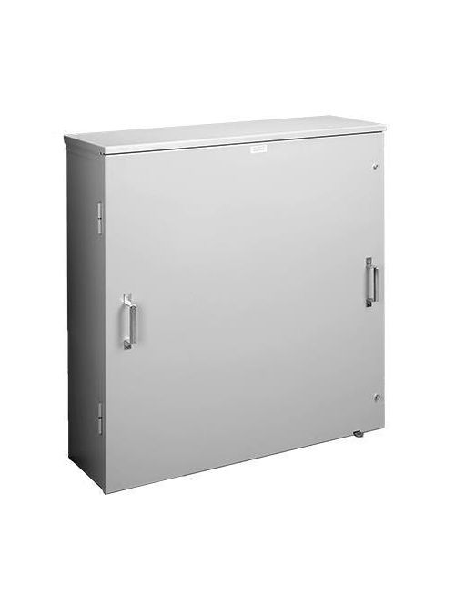 Hoffman A363011HCT 36 x 30 x 11 Inch 12 Gauge Galvanized Steel NEMA 3R Current Transformer Hinge Cover Enclosure