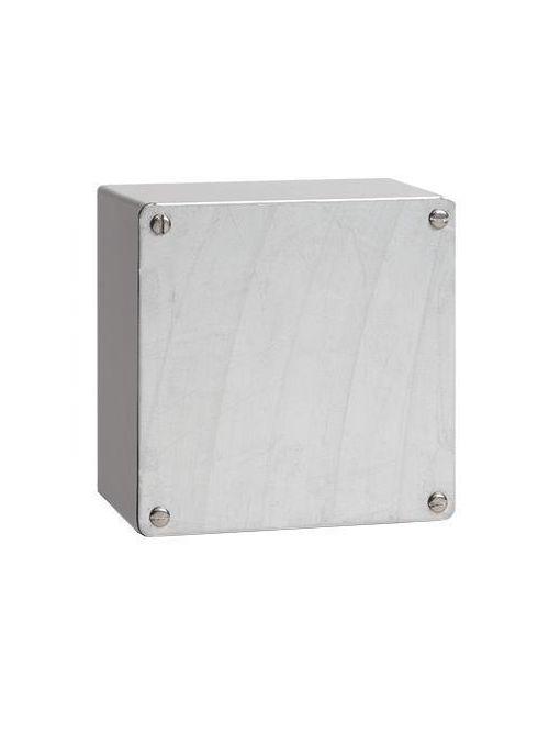 Hoffman A10108GSC 10 x 10 x 8 Inch 14 Gauge Galvanized Steel NEMA 3 Screw Cover Enclosure