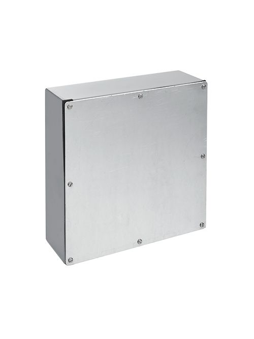 Hoffman A884GSC 8 x 8 x 4 Inch Galvanized Steel NEMA 3 Gasketed Screw Cover Enclosure