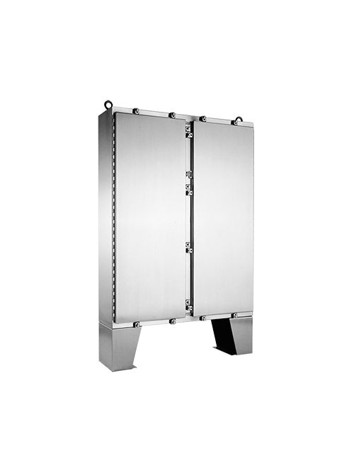 Hoffman A74H6012SSLP 74.06 x 60.06 x 12 Inch Stainless Steel Enclosure