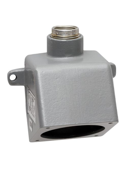 Hubbell Wiring Devices MB604W 1 Inch Metallic Feed-Through Pin and Sleeve Back Box