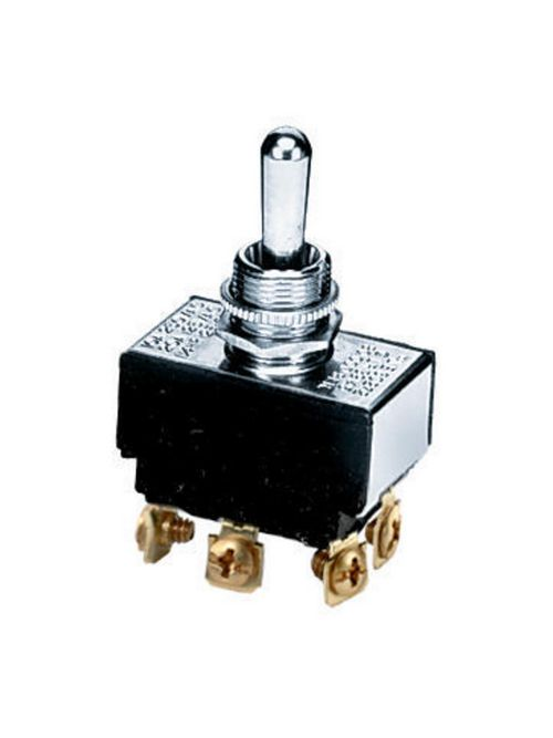 Hubbell Wiring Devices HBL223 1-1/2 Hp 20 Amp 125 VAC DPDT Toggle Switch