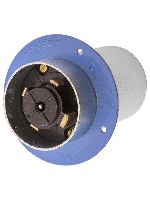 HCI HBL26522 H/LOCK FLGD INLET, 4P5