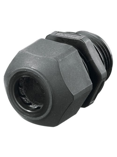 Hubbell Wiring Devices SEC75BA 3/4 Inch Threaded 0.45 to 0.71 Inch Black Non-Metallic Low Profile Cord Connector