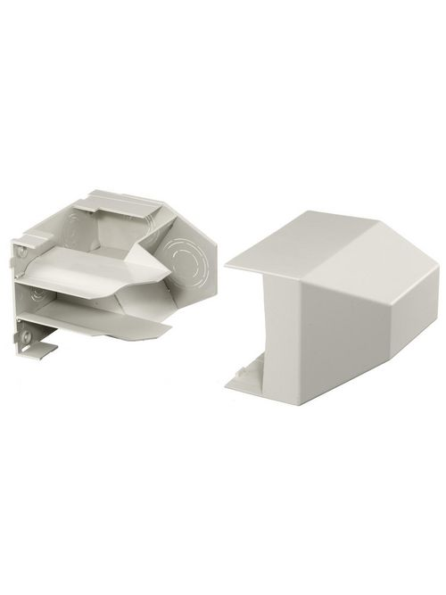 Hubbell Wiring Devices PB3CACF Office White Non-Metallic Conduit Adapter