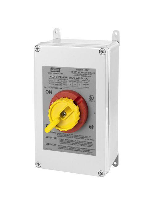 HCI HBL16X63D 60A 600V 3P RTRY DISC