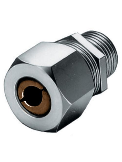 Hubbell Wiring Devices SHC1024SS 1/2 Inch Male Threaded 0.5 to 0.63 Inch Stainless Steel Straight Cord Connector