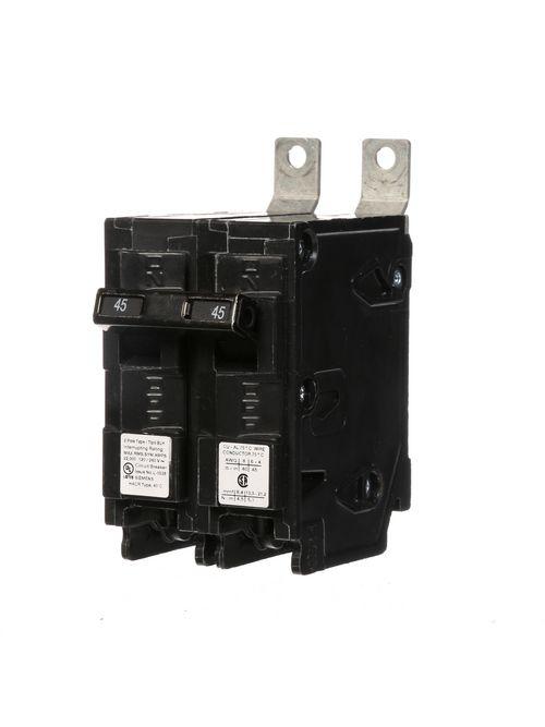 Siemens Industry B245H 120/240 Volt 45 Amp 22 kaic 2-Pole Type BLH Circuit Breaker