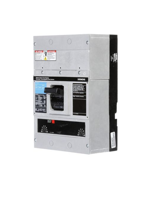 Siemens Industry JXD63B400L 3-Pole 600 Volt 400 Amp Circuit Breaker