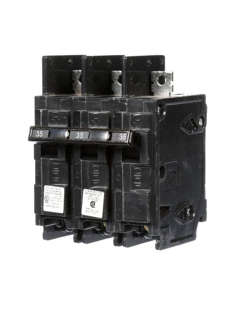 Siemens Industry BQ3B035 240 Volt 35 Amp 10 kaic 3-Pole Circuit Breaker