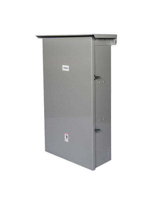Siemens Industry J6N3R 26-3/4 x 11-23/32 x 40-63/64 Inch 400 Amp NEMA 3R Enclosure