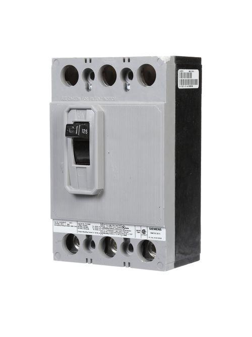 Siemens Industry QJH23B125 240 Volt 125 Amp 22 kaic 3-Pole Circuit Breaker