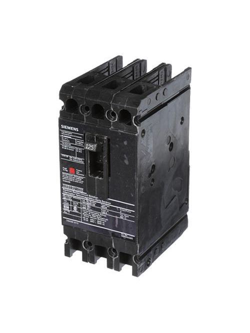 Siemens Industry HED43B125 480 Volt 125 Amp 42 kaic 3-Pole Circuit Breaker with LD Lug