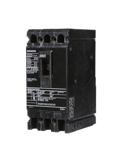 S-A ED43S100A BREAKER ED 3P 100A 48