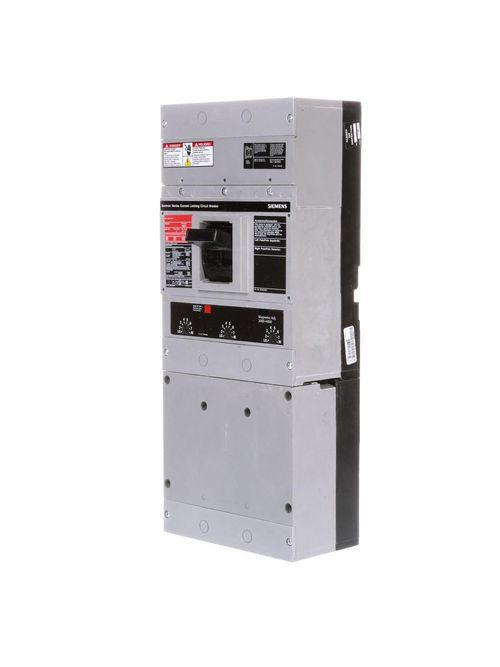 Siemens Industry JD63B200 3-Pole 600 VAC/500 VDC 200 Amp Thermal Magnetic Circuit Breaker