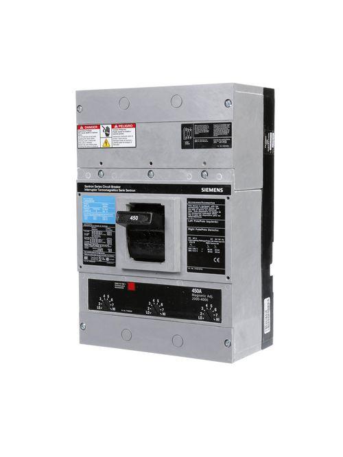 Siemens Ca LXD63B450 LD MCCB,25kA@6