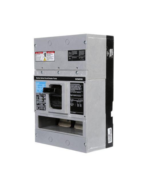 Siemens Industry LD63B500 3-Pole 500 Amp 600 Volt 25 kA Molded Case Circuit Breaker