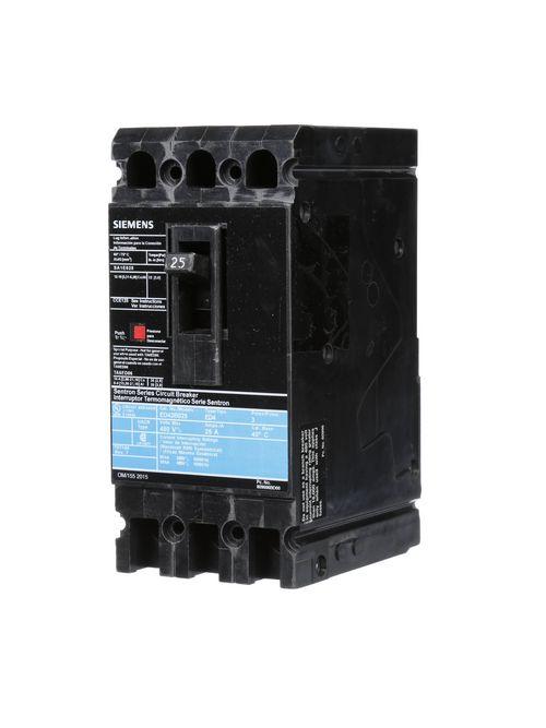 S-A ED43B025L BRKR ED4 3P 480V 25A