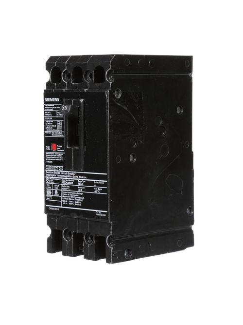 Siemens Ca HED43B030L MCCB,3 POLE,4