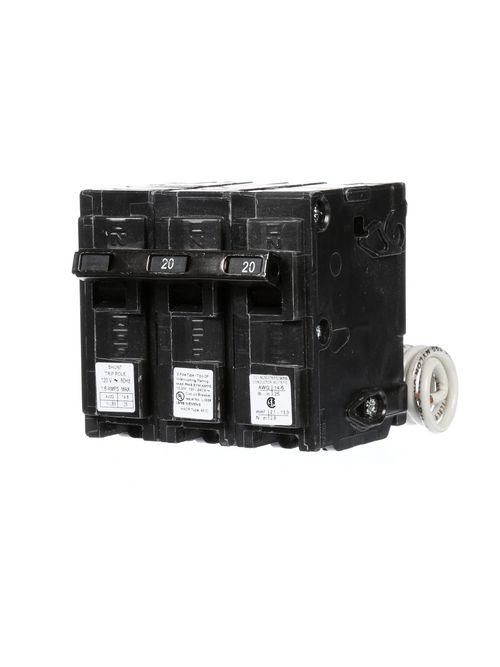 Siemens Industry Q22000S01 2-Pole 20 Amp 120/240 VAC 10 kA 120 Volt Shunt Trip Circuit Breaker