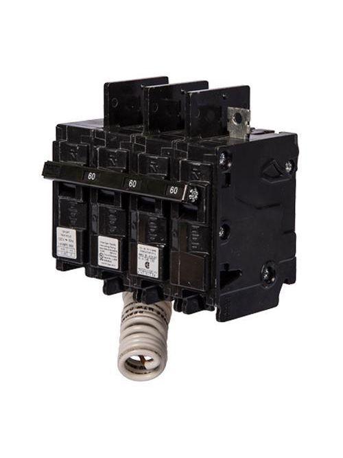 Siemens Industry BQ3B04000S01 240 Volt 40 Amp 10 kaic 3-Pole Type BQ Circuit Breaker with 120 Volt Shunt