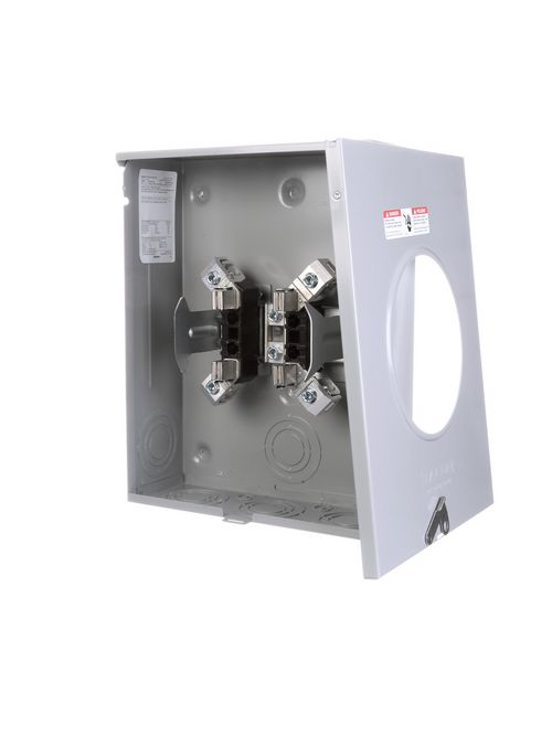 Siemens Industry SUAT417-PG 600 VAC 200 Amp 1-Phase 3-Wire 4-Jaw 1-Position No Bypass Ringless Meter Mounting Equipment