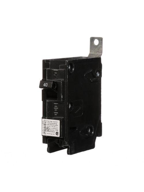 Siemens Industry B140H 1-Pole 40 Amp 120 Volt 22 kA Bolt-On Molded Circuit Breaker