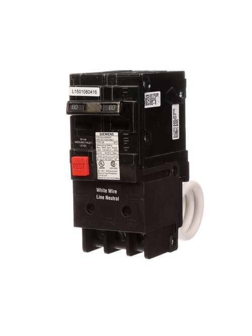 Siemens Ca QE260 QE BRKR,2P,120/240
