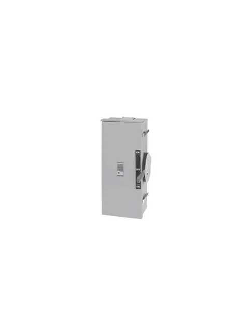Siemens Industry DTF324R 240 VAC/250 VDC 200 Amp 3-Pole 3-Wire NEMA 3R Heavy Duty Fusible Safety Switch