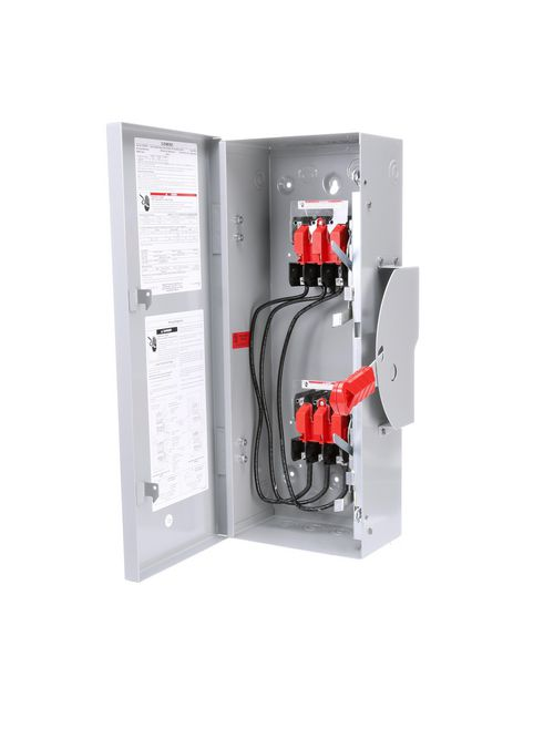 Siemens Industry DTNF321 240 VAC/250 VDC 30 Amp 3-Pole 3-Wire NEMA 1 Heavy Duty Non-Fusible Safety Switch