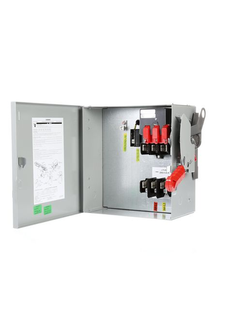 Siemens Industry SLVBH3610G 600 VAC 30 Amp 20 Hp 3-Pole 3-Wire Fusible Sentron Busway System Plug-In Unit