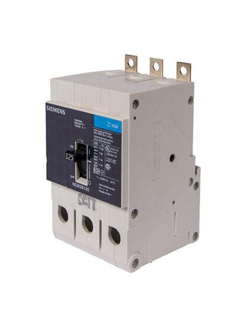 Siemens Industry NGB3B080 3-Pole 80 Amp 600 Volt 14 kA Molded Case Circuit Breaker