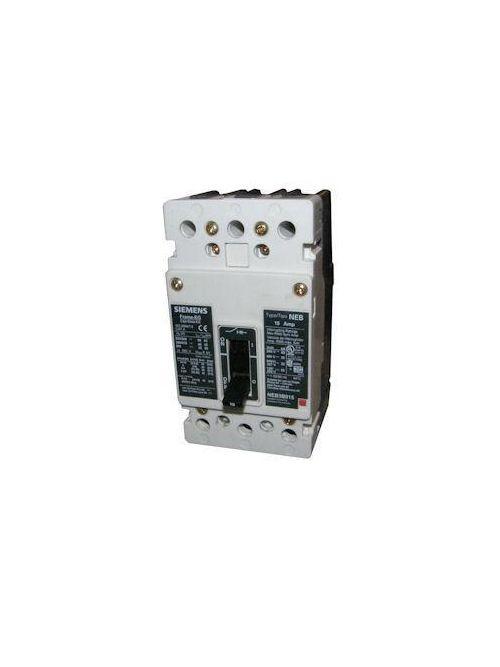 Siemens Industry NEB3B020B 3-Pole 480 VAC 20 Amp 35 kA Panelboard Mount Thermal Magnetic Molded Case Circuit Breaker