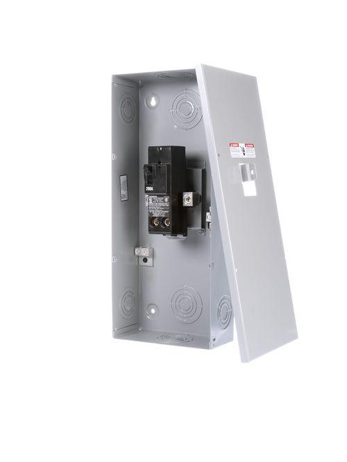 Siemens Industry E0202MB1200 8-1/2 x 4 x 19-3/8 Inch 120/240 VAC 200 Amp NEMA 1 Enclosure