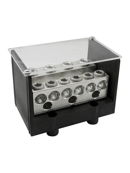 ILSCO PDB-212-4/0-2 460 Amp 600 Volt 14 to 4 AWG Secondary Electrotinned Aluminum Alloy Power Distribution Block